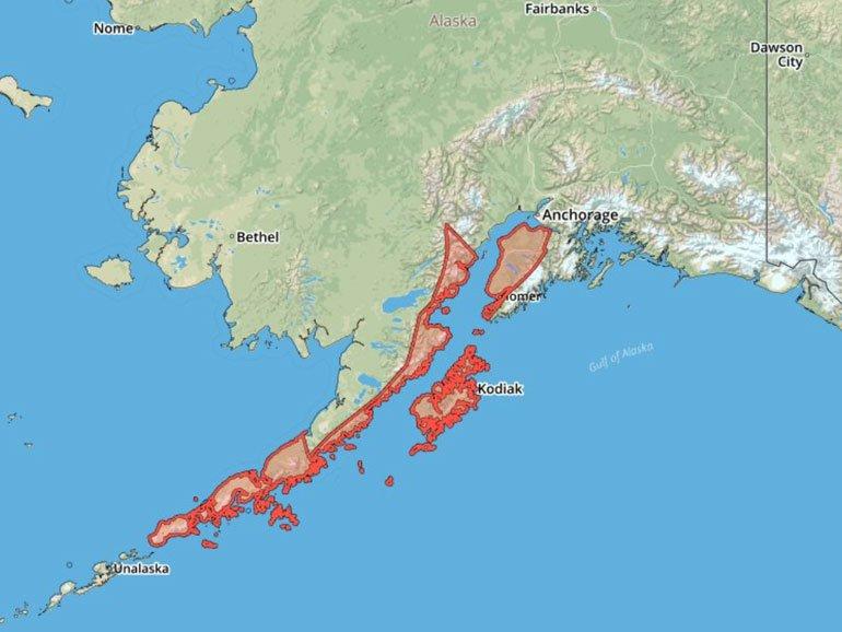 Alaska'da tsunami alarmı! 7.5 büyüklüğünde deprem oldu