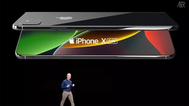 Apple, Katlanabilir iPhone İçin LG'ye Güveniyor