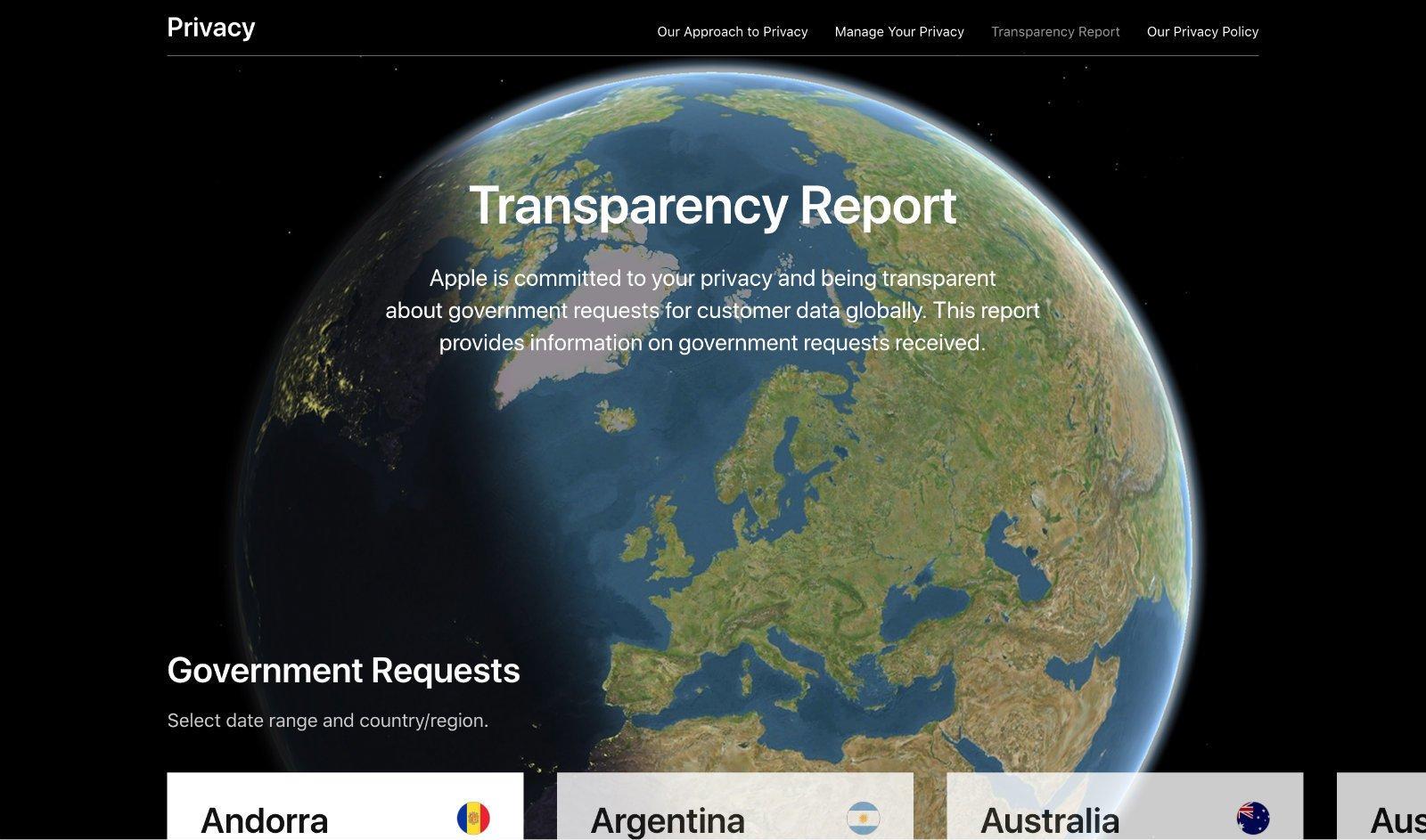 Apple'ın Şeffaflık Raporu Endişeleri Açığa Çıkardı