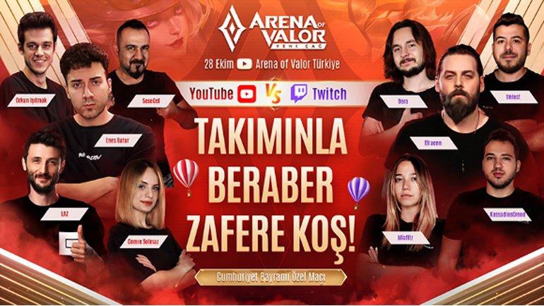 Arena of Valor: Yeni Çağ, Cumhuriyet Bayramı'nı Özel Etkinliklerle Kutluyor