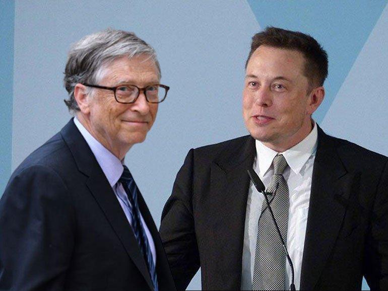 Bill Gates'ten Elon Musk'a gözdağı verdi: Bilmediğin konularda konuşma