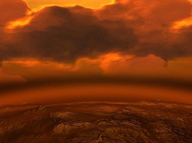 Cehennem Kadar Sıcak Olan Venüs Gezegeninde Yaşam Olabilir mi?