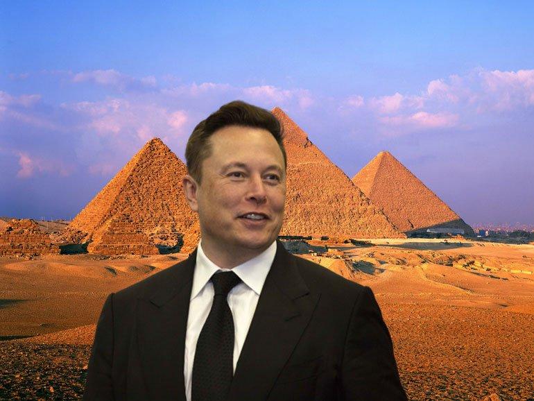 Elon Musk'ın ilginç teorisi: Piramitleri uzaylılar inşa etti