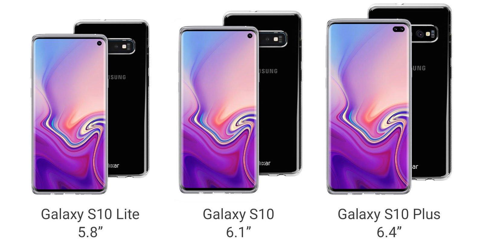 Galaxy S10'dan Yeni Kılıf Çizimleri Geldi