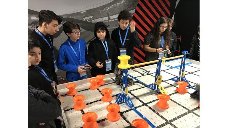 Geleceğin Robot Tasarımcıları Geldi