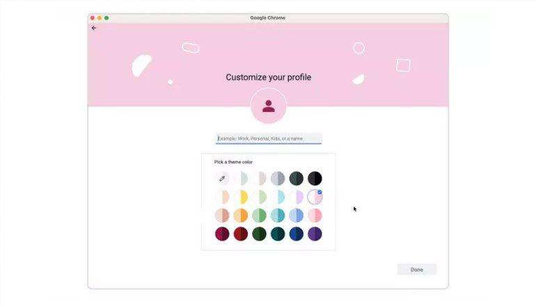 Google, Chrome Profillerini Geçiş Yapmayı Kolaylaştırmak İçin Yeniliyor