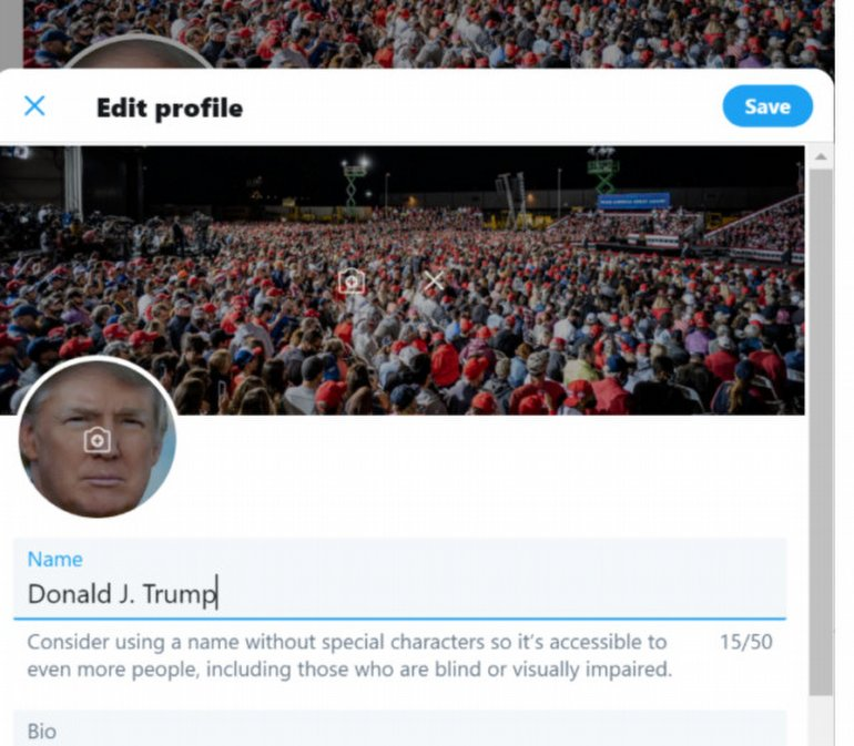 Hack Olayıyla Ortaya Çıkan Trump'ın Twitter Şifresi, Herkesi Şaşırttı