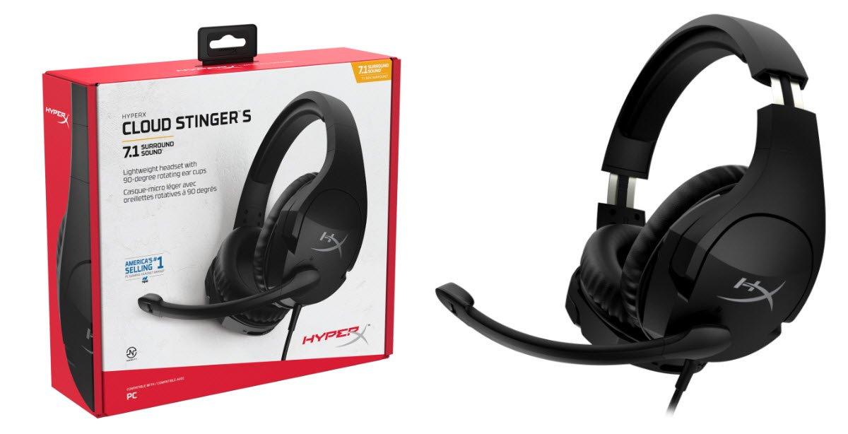 HyperX, Ödüllü Kulaklık Serisini Cloud Stinger S ile Genişletiyor