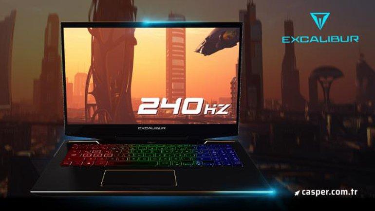 İşte 240 Hz Yenileme Hızına Sahip Casper Excalibur G900!