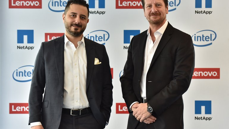 Lenovo ve NetApp İş Birliğine Gitti