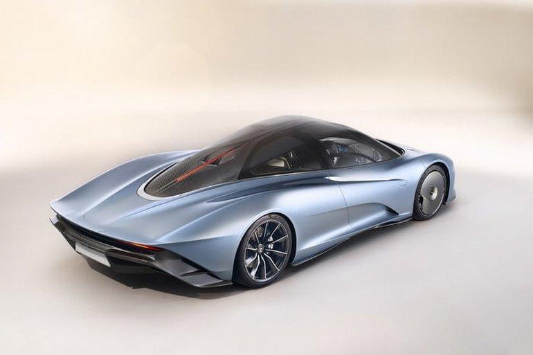 McLaren Speedtail: 1.000 beygir gücü, 400km/h hız!