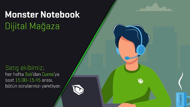 Monster Notebook'tan Fark Yaratan Uygulama: Dijital Mağaza