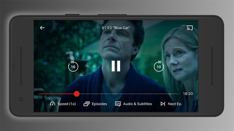 Netflix'ten Android'e Hız Denetimleri