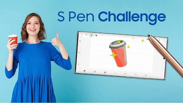 S Pen ile TikTok Challenge'ı Başlıyor!