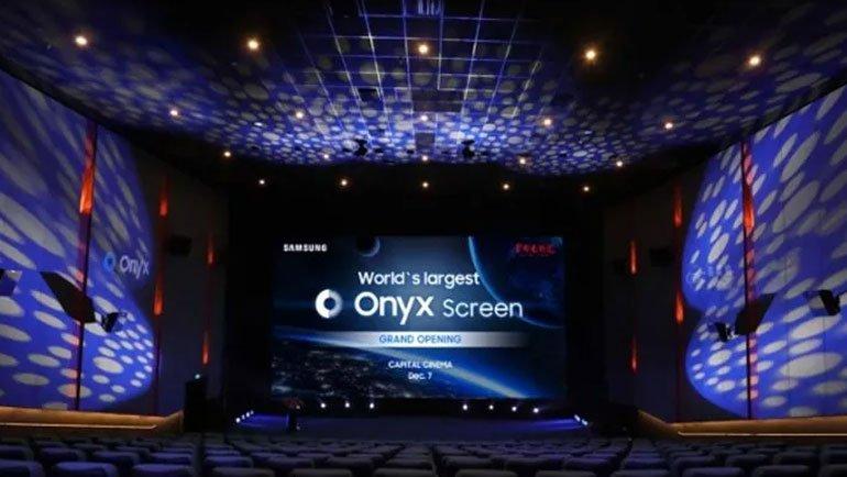 Samsung, En Geniş Sinema Ekranını Gösterdi