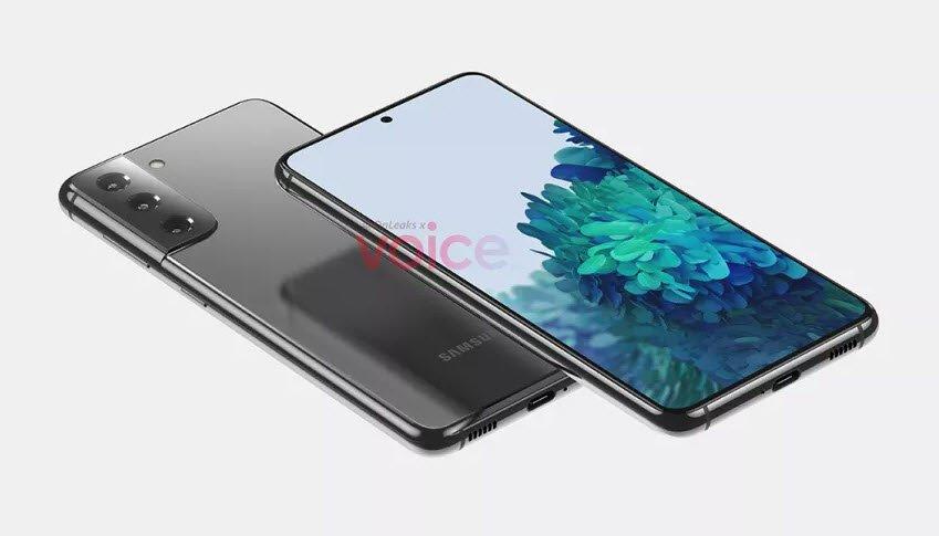 Samsung S21 Tasarımı İnternette İlk Kez Göründü