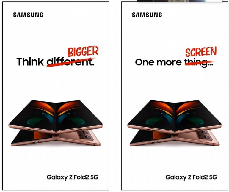 Samsung, Yeni Galaxy Z Fold 2 Reklamında iPhone ile Dalgasını Geçti