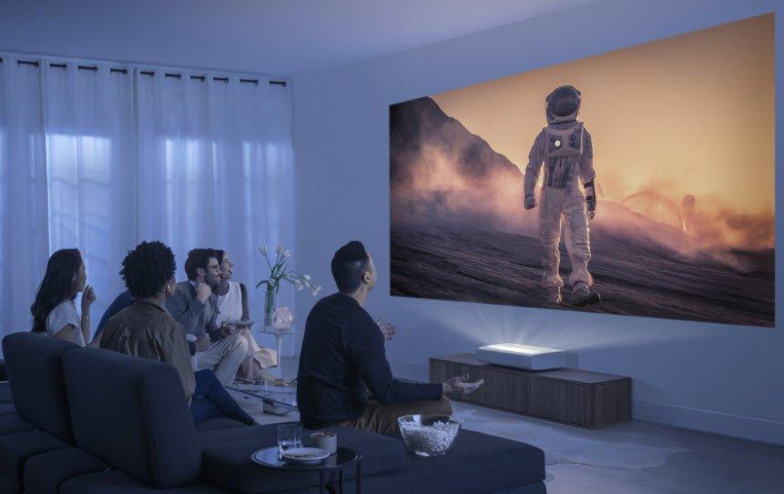 Samsung'dan ltra Kısa Mesafeli Lazer Projeksiyon: The Premiere