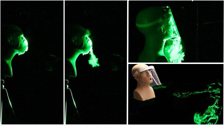 Şaşırtan deney! Siperlik ve maske karşılaştırıldı! Hangisi nasıl koruyor?