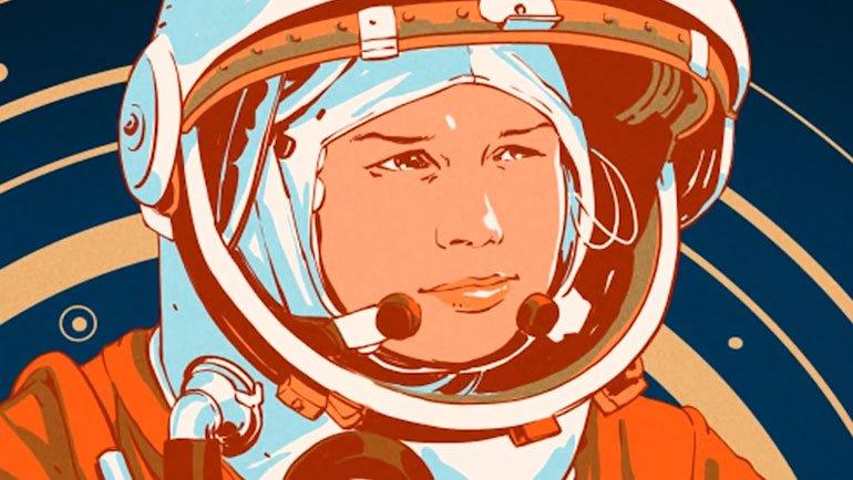 Tekstil fabrikasında çalışan bir kadın uzaya nasıl gitti?