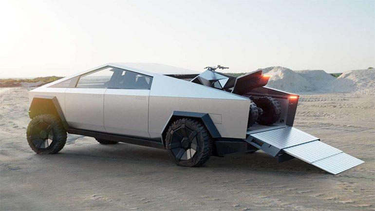 Tesla Cybertruck'un Rengi Isıtarak Değiştirilebilir mi? Musk'a Göre Evet!