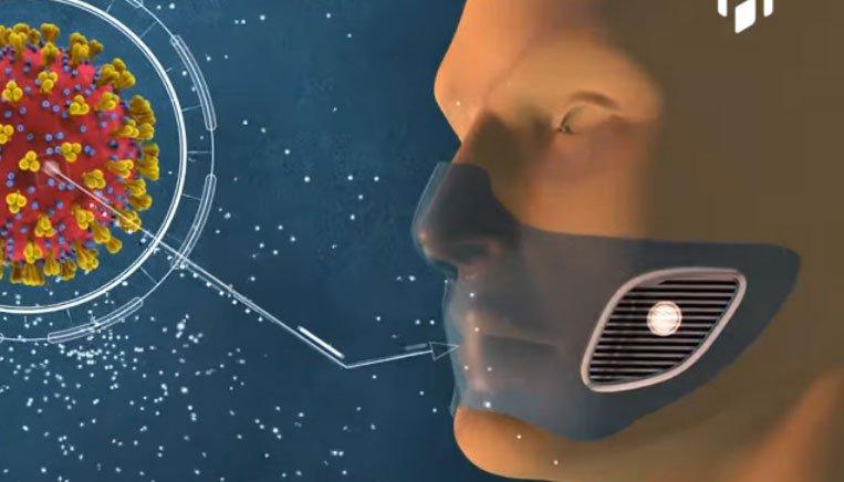Uzmanlardan muhteşem icat! Koronavirüsle temas edince sinyal veren maske!