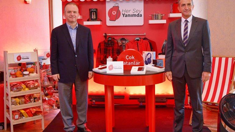 Vodafone'dan E-Ticarette 3 Yılda En Büyük Oyuncudan Biri Olma Hedefi