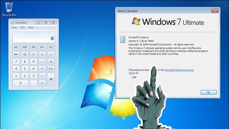 Windows 7, Windows XP'nin İzinde Yoluna Devam Ediyor