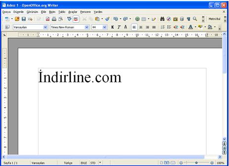 OpenOffice Metin Belgesi