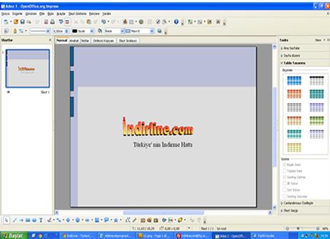 OpenOffice Sunum